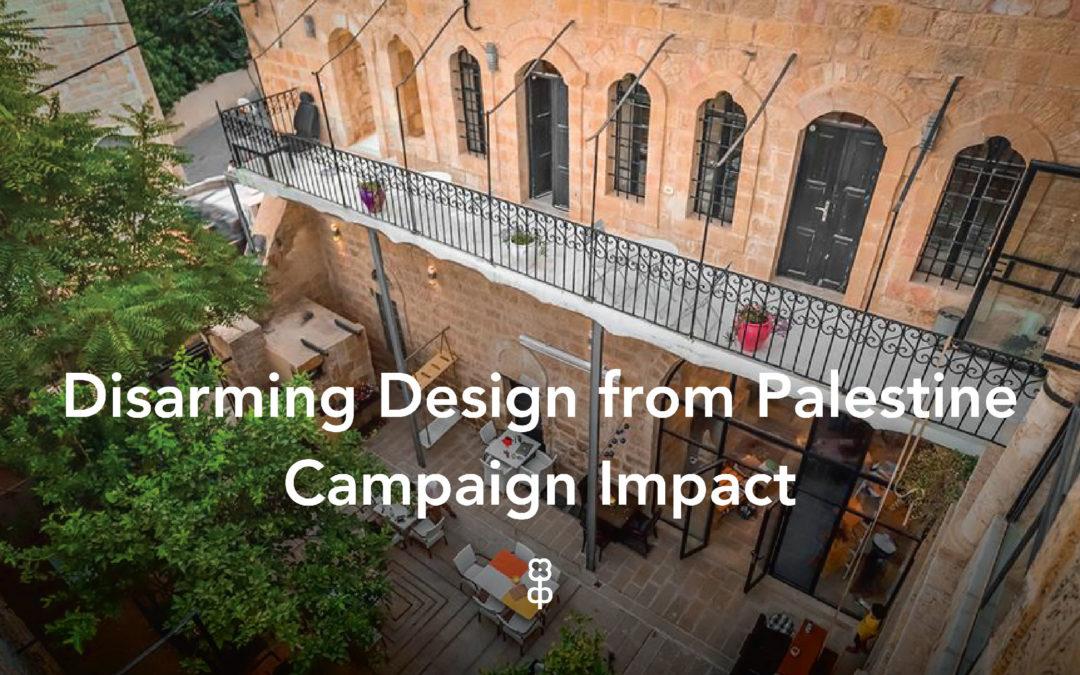 Disarming Design from Palestine
