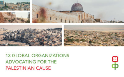 13 Global Organizations Advocating for the Palestinian Cause