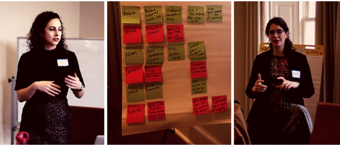 BuildPalestine's first Design Thinking Workshop in Washington D.C. to Co-Create a Global Membership Network