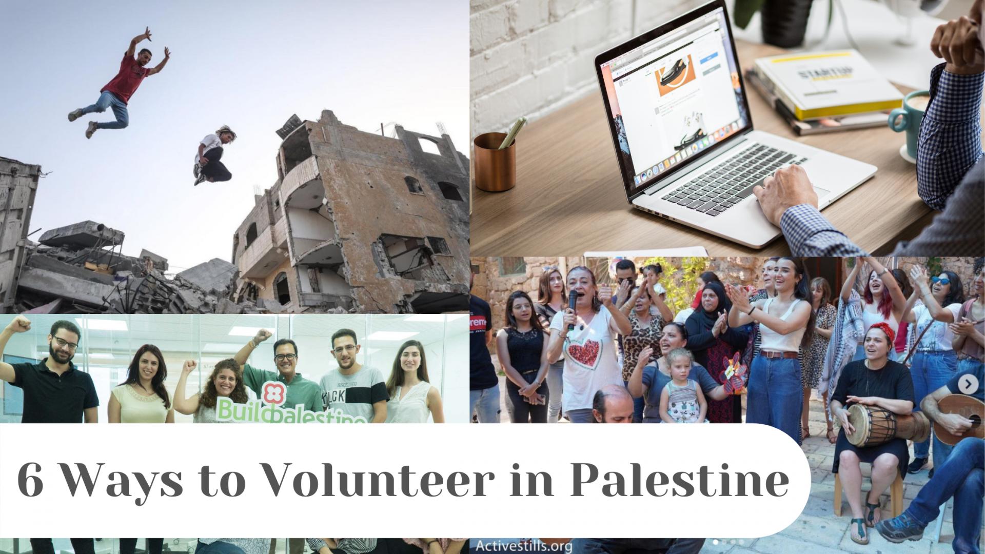 6 Ways to Volunteer in Palestine
